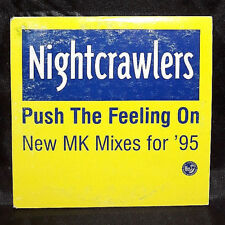Nightcrawlers - Push The Feeling On (New MK Mixes for '95) - CD - Australia