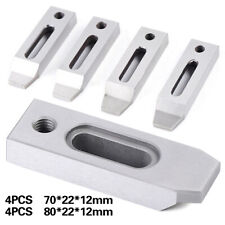Cnc Wire Cut Edm Fixture Jig Holder 4pcs For Clamping 70mm / 80mm M8x 1.25 Screw