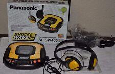 NOS Panasonic SL-SW405 SHOCK WAVE Portable CD Player