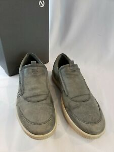 Men's ECCO Ennio Slip-On,534324 12602 Size [45] 11-11.5 -Gray -w/Box & Free Ship