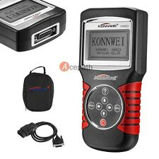 KW820 EOBD OBD2 OBDII Free Computer Car LCD Diagnostic Tool Engine Code Scanner