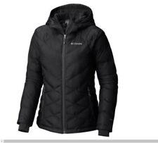 NEW Columbia Women HEAVENLY Hooded Jacket BLACK, XS-S-M-L-XL