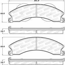 Disc Brake Pad Set-Cutaway Van Rear,Front Stoptech 308.14110