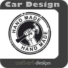 "Autoaufkleber ""HAND MADE"" Tuning Styling Aufkleber Sticker Stickerbombing D009"