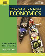 Edexcel As/a Level Economics Anderton  Alain 9781447990550