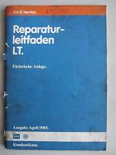 VW LT+Florida+Sven Hedin Reparaturhandbuch Elektrik+Kabelbaum+Relais+Leitungen
