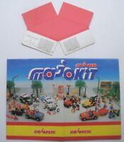 Rare présentoir ancien majorette Majokit en carton France 1986  vintage display