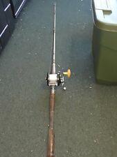 Vintage Fluke Fishing Pole Rod Ocean City Reel