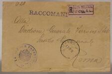 POSTA MILITARE UFFICIO C. L.  8.6.1917 14° SEZIONE PANETTIERI #XP521E