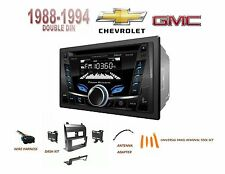 CHEVY GMC SUV/ Full Size Trucks 1988-1994 Car Stereo Kit BLUETOOTH USB AUX CD