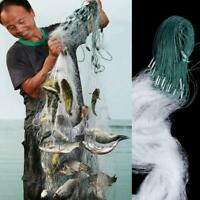 3 Sizes Monofilament Fishing Fish Mesh Trap Nylon Clear Monofilament Gill Net