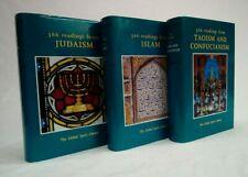 Lot of 3~Global Spirit Library~ISLAM, JUDAISM, TAOISM & CONFUCIANISM 1st Prints