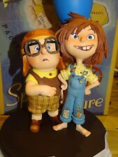 Disney Pixar Disneyland Paris UP Figurine Carl and Ellie Ltd Edition 1500 New