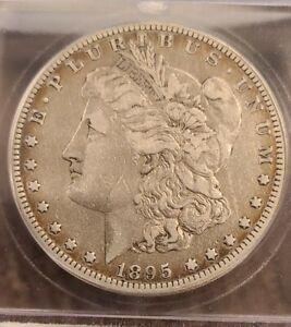 1895-O MORGAN SILVER DOLLAR NICE CIRCULATED KEY DATE COIN