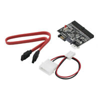 To IDE For DVD/ CD/ HDD 2 In 1 SATA To IDE Adapter Converter Cable Adapter