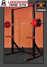 POWER SQUAT RACK 300 KG Capacity, Bench Press, Chin/Pull up Lockdown Home Gym