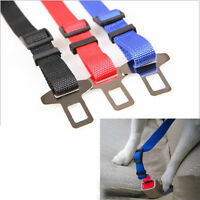 Newest Pet Dog Cat Safety Seat Belt Adjustable Harness Pet Protection Accessory