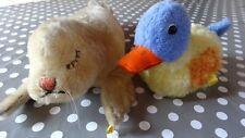 Steiff Tiere Ente und Seehund