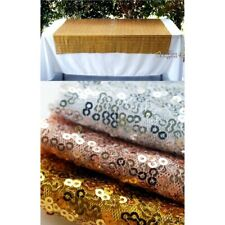 Sequin Table Cloth 1m x 1.5m Wedding Rectangle Sparkly Shimmer Glitter Backdrop
