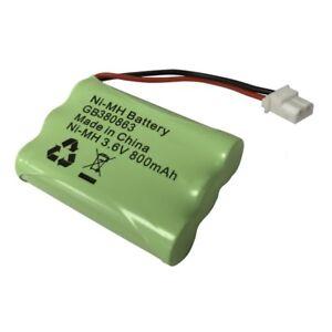 Motorola MBP481 MBP482 MBP483 Baby Monitor Battery Pack 3.6V 800mAh NiMH 380863
