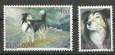 FARÖR/ Hunde MiNr 262/63 **