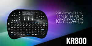 MyGica KR800 Mini Keyboard Back Lit Touch Pad USB Wireless Remote Android TV LN™
