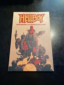 SJG Hellboy RPG Hellboy - Sourcebook and RPG FIRST PRINTING