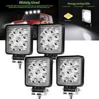 4X 27W LED Arbeitscheinwerfer Flutlicht Nebel Lampe Strahler LKW Jeep DC12V-24V