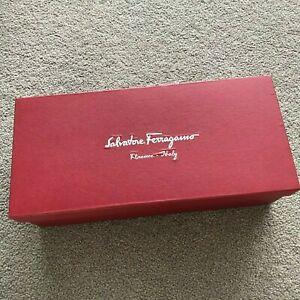 Authentic Salvatore Ferragamo Shoes Box Gift Box Luxury Empty Packaging