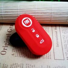 FIAT silicone key cover (Red)