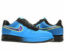 Nike Lunar Air Force 1 Leather Photo Blue Men's Shoes 580383-400 Size 9.5