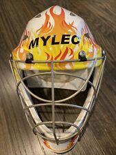 Mylec Ultra Pro II Goalie Flame Mask