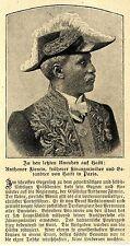 Haiti Unruhen Anthenor Fixmin Historische Aufnahme von 1908