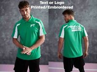 Personalised  Polo Shirt Embroidered Printed Custom Workwear Uniform Unisex