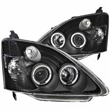 Headlight Set-Projector w/Halo ANZO 121057