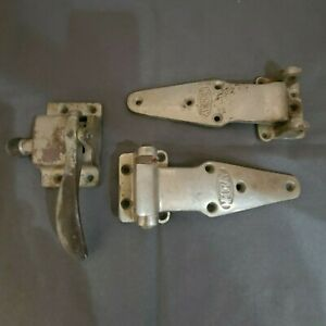 Vintage McCray Refrigerator Hinges and Latch For Parts or Repair