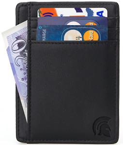 RFID Blocking Slim Wallet - Minimalist Card Wallet by POWR- Credit Card 7 Cards
