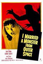 I MARRIED A MONSTER FROM OUTER SPACE Movie POSTER 27x40 Tom Tryon Gloria Talbott