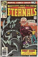 THE ETERNALS #1~MARVEL COMICS~1976~JACK KIRBY~UNCIRCULATED~MOVIE CAST~VF/NM