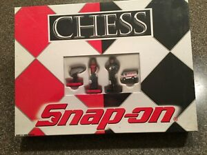 Snap-On Tools Chess Game - Factory Sealed Set / Never Opened  - Collectible Set