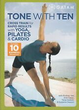 Yoga, Pilates and Cardio DVD - Tone With Ten - Cross Train for Rapid Results