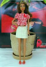 Hot Lips Fashionista African American Barbie With Nipple Implants,Country Outfit