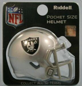 Las Vegas Raiders NFL Riddell Pocket Pro Speed Mini Football Helmet