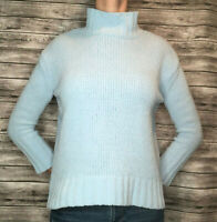 Philosophy Republic Clothing Matte Chenille Knit Light Blue Sweater S Small