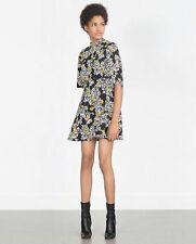 Zara Crew Neck Skater Short/Mini Dresses