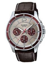 Casio MTP1374L-7A1 Mens Genuine Leather 50M Dress Watch