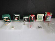 Hallmark Miniature Ornaments Lot of 6 New in Box