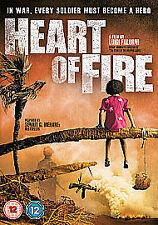 HEART OF FIRE GENUINE R2 DVD FILM BY LUIGI FALORNI WAR DRAMA NEW/SEALED