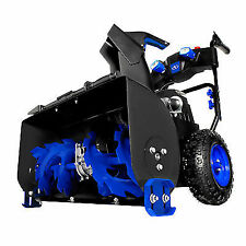 Snow Joe ION8024XR 24-inch Volt 2x5 Ah 4 Speed Batteries Cordless Two Stage Snow Blower