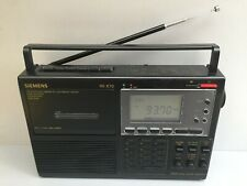 SIEMENS RK 670 Radio Cassette PLL Synthesized receiver / World Receiver